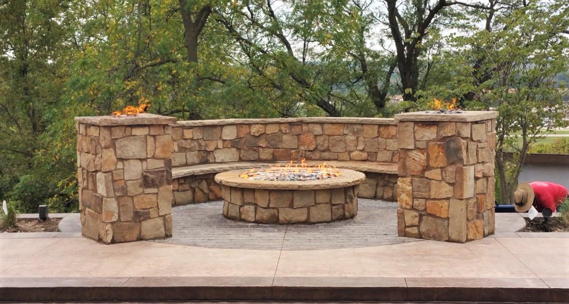 Premier Construction Custom Fire Pit