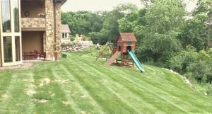 Des Moines Backyard Before