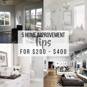 5 Home Improvements Blog 3 Title Image