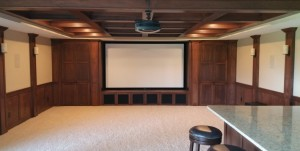 Lower Level Basement Theater